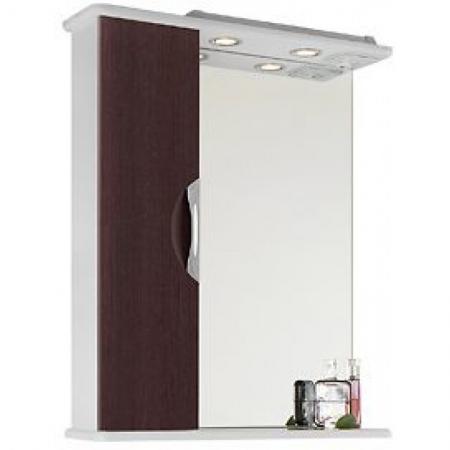 Шкаф-зеркало Vod-ok Лира 65 венге ЛВ