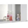 Шкаф-зеркало Vod-ok Лира 85 белое ЛВ