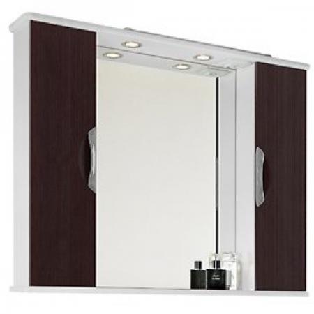 Шкаф-зеркало Vod-ok Лира 105 венге