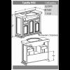 Комплект мебели Opadiris Риспекто 95 (нагал)