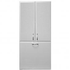 Шкаф над стиральной машиной Vod-ok 60 см с корзиной Белый