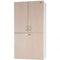 Шкаф над стиральной машиной Vod-ok 60 см с корзиной Дуб