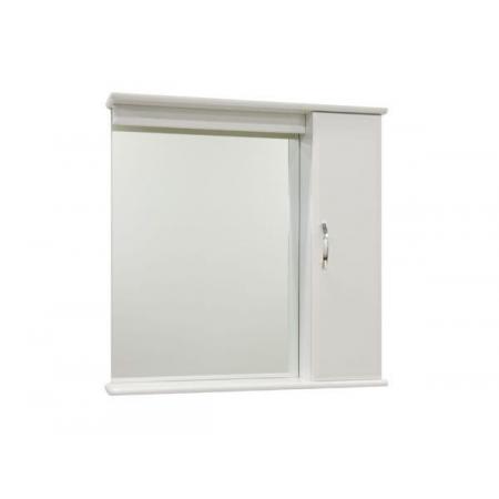 Зеркало Vod-ok Тунис 85 см Белое, без освещения ЛВ