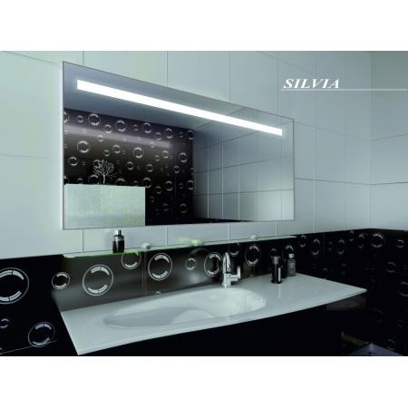 Зеркало для ванной комнаты с подсветкой Forum Silvia 90*75 см