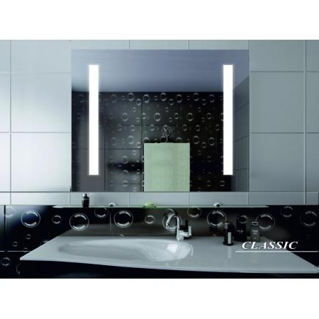 Зеркало для ванной комнаты с подсветкой Forum Classic 100*100 см
